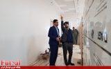 بازدید سرپرست دبیرکلی از پروژه احداث ساختمان فوتسال