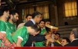 قهرمانی عادل فردوسی پور در یک جام فوتسالی