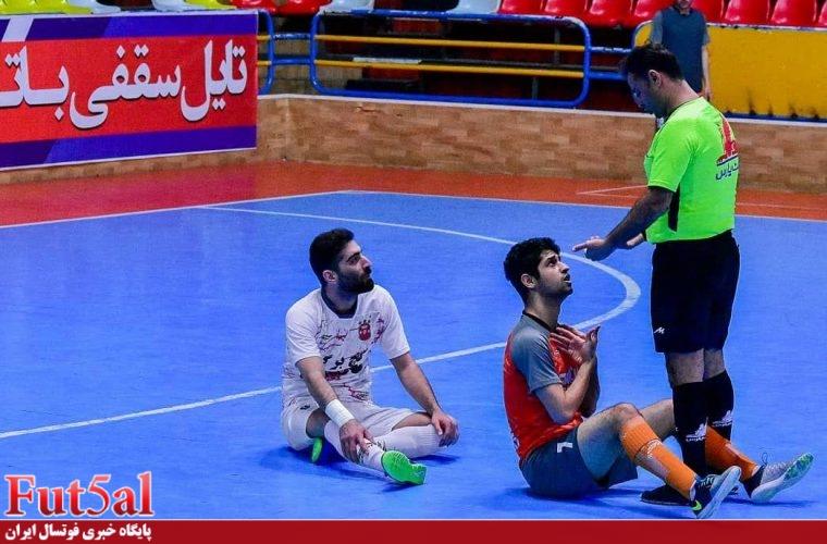 گزارش تصویری/بازی تیم های گیتی پسند اصفهان با سن ایچ ساوه
