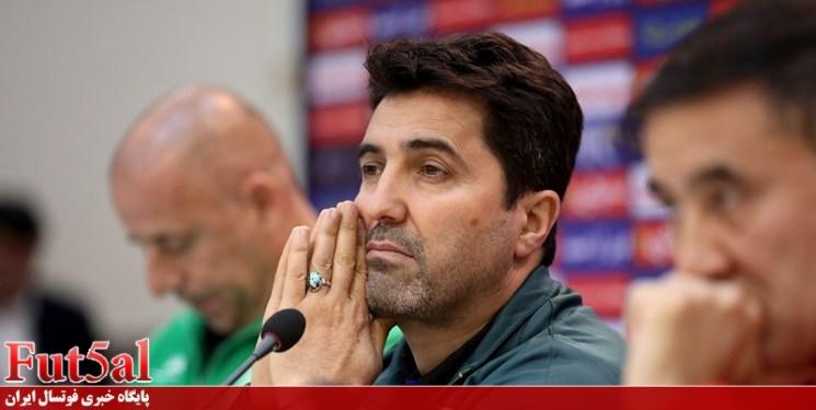 ناظمالشریعه: به بازیکنان فینالیست لیگ برتر فوتسال استراحت دادیم