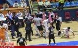 گزارش تصویری/درگیری در پایان بازی مس سونگون با گیتی پسند اصفهان