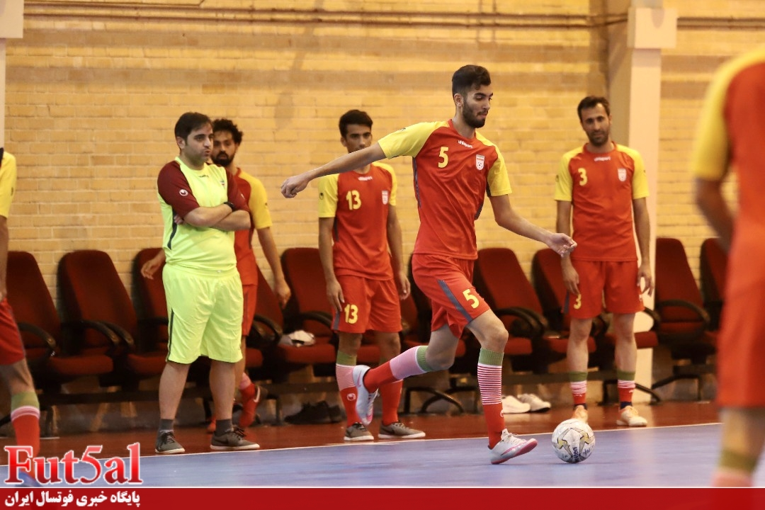 گزارش تصویری /تمرین تیم ملی فوتسال