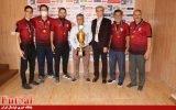 گزارش تصویری/اهدای جام قهرمانی به تیم امیدهای گیتی پسند