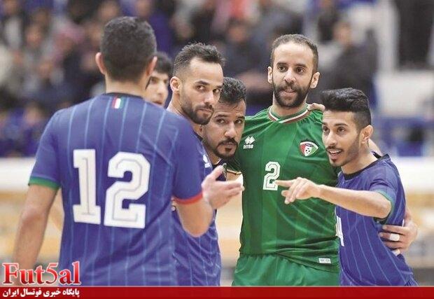 امیدواری کویت به صعود به جام جهانی فوتسال با حضور تماشاگران!