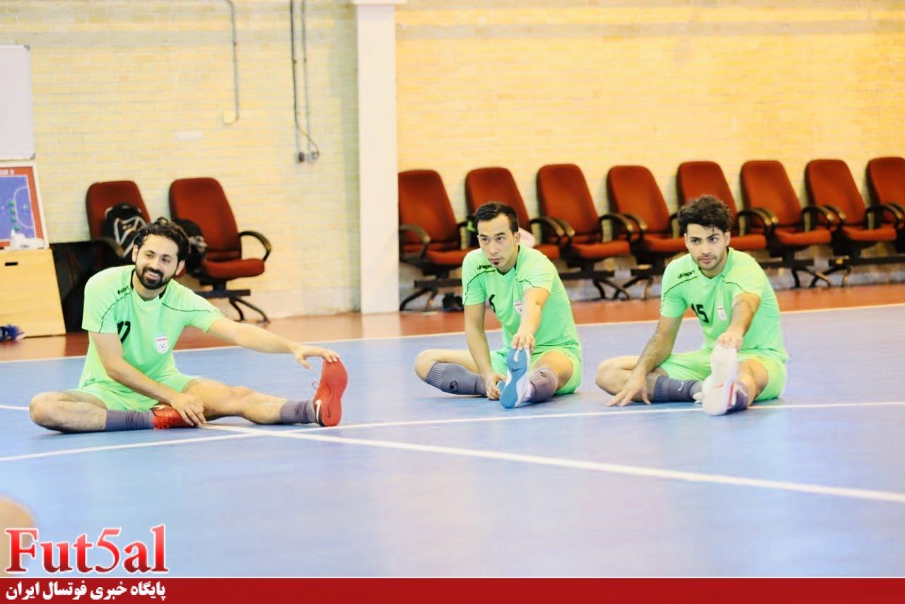 تیم ملی آبان در کیش اردو می زند