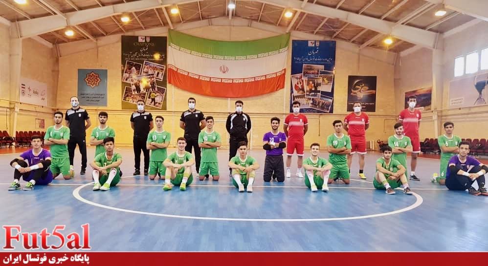پایان مرحله دوم اردوی تیم فوتسال جوانان ایران