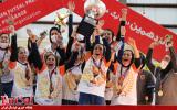 گزارش تصویری فینال لیگ فوتسال بانوان