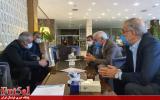 جلسه مدیران فرش آرای مشهد با سرپرست فدراسیون فوتبال