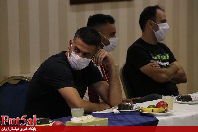 گزارش تصویری/مراسم معارفه کادرفنی و بازیکنان گیتی پسند