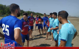 گزارش تصویری/ تمرینات پیش فصل سن ایچ ساوه در شهر نوشهر
