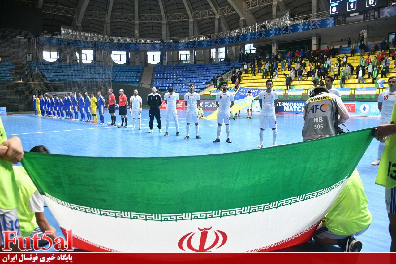 پیروزی نزدیک ایران مقابل ازبکستان