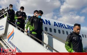 گزارش تصویری / بازگشت کاروان ملی پوشان فوتسال