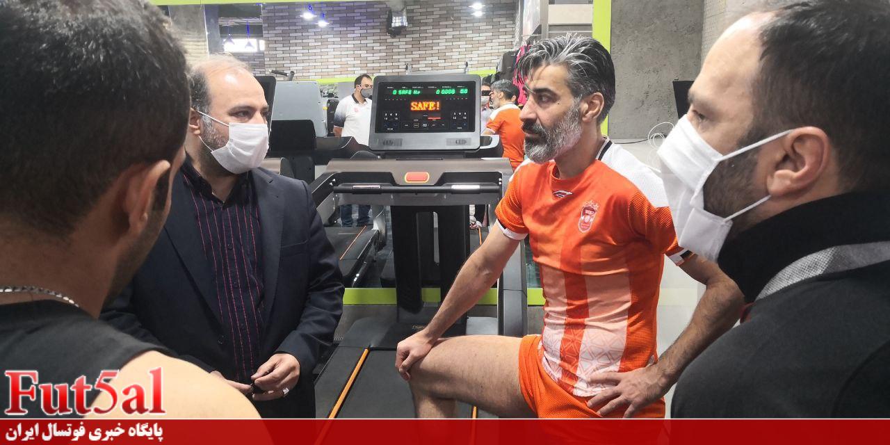 شمسایی: نباید به خاطر تیم های ناآماده لیگ را به تعویق بیندازیم / ستاره های ایران بالای ۳۰ سال هستند / دستِ ناظمالشریعه در انتخاب بازیکنان جوان بسته است