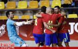 پیروزی نزدیک اسپانیا مقابل برزیل در بازی دوستانه