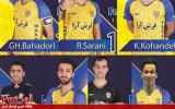 جدایی هفت بازیکن از فرش آرا مشهد