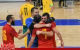 شکست میزبان جامجهانی از مونتهنگرو در دیدار رفت پلیآف جام ملتهای اروپا