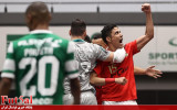 گزارش تصویری/ درخشش طیبی در دربی لیسبون مقابل قهرمان اروپا