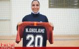 نسیمه غلامی: لژیونری تجربه خوبی بود/ در کویت همه از شهرزاد مظفر تعریف میکنند