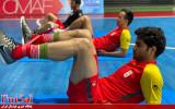 گزارش تصویری / اولین تمرین تیم ملی در ازبکستان