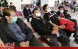 سرگردانی بازیکنان کوثر اصفهان در فرودگاه مهرآباد تهران + تصاویر