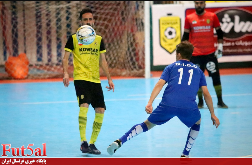 گزارش تصویری/بازی تیم های کوثر اصفهان با حفاری خوزستان