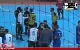 ۳ ثانیه پایانی و جنجال داوری در دیدار حفاری و کوثر اصفهان/ تعللی که منجر به گل شد