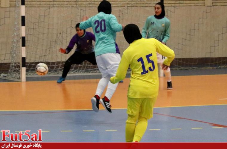 گزارش تصویری اختصاصی/ بازی تیم های بانوان نامی نو اصفهان با حفاری خوزستان