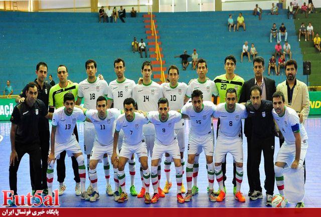 فوتسالیستهای ایران قبل از جام جهانی، واکسن کرونا دریافت میکنند