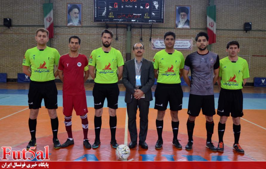 گزارش تصویری/بازی تیم های مقداد مشهد با سبحان فلز گرمسار