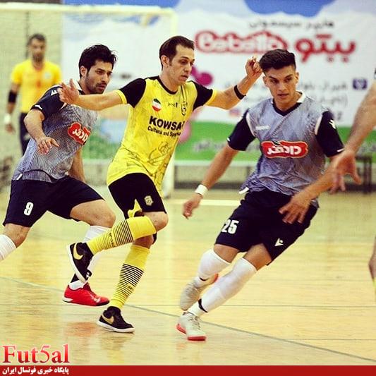 سری دوم گزارش تصویری/بازی تیم های ایمان شیراز با کوثر اصفهان