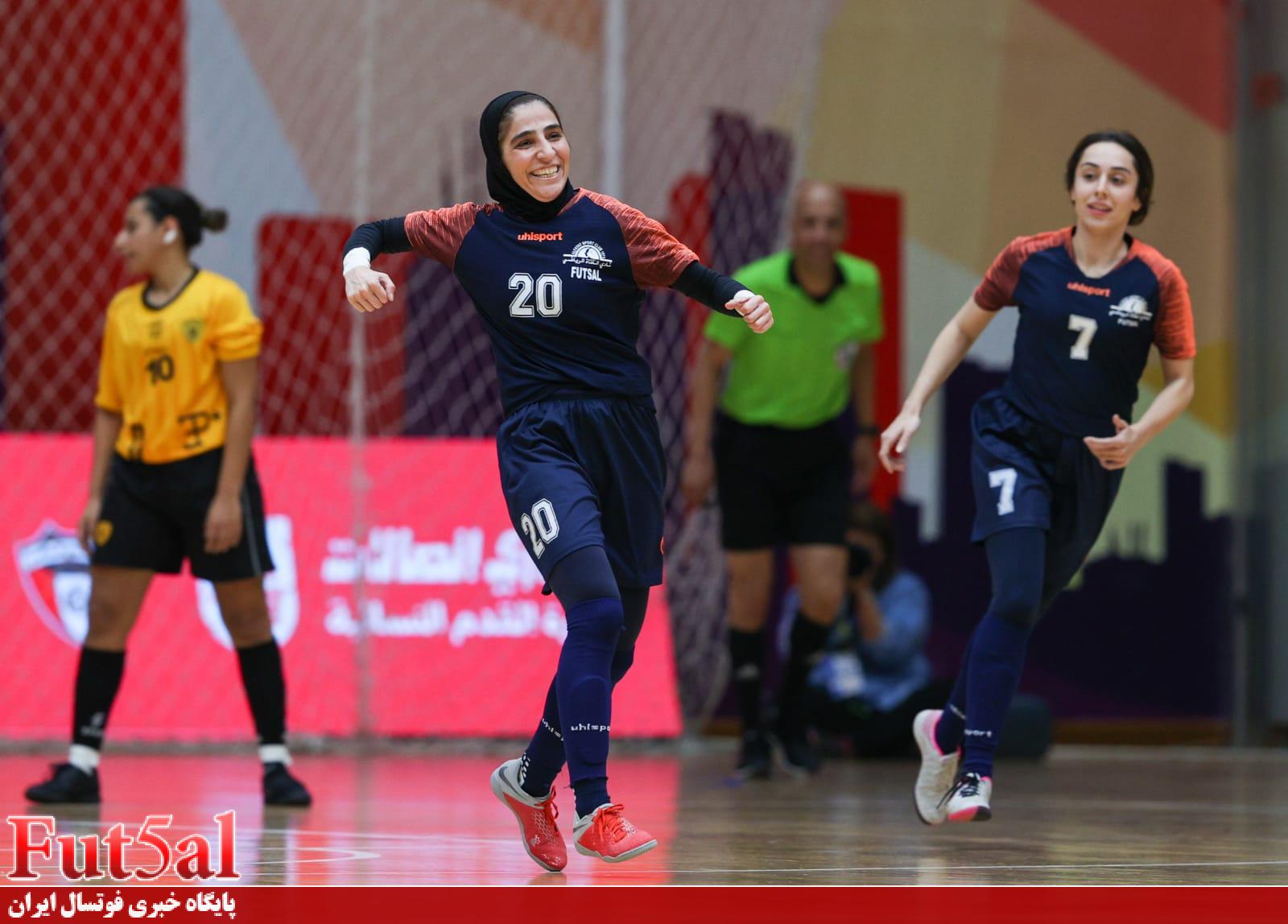 حقمان صعود به فینال کویت بود/ الکویت دو بازیکن اوکراینی دارد اما من هم ایرانیام/ در فینال از اعتبار فوتسال بانوان ایران دفاع میکنم