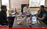 جلسه هیات مدیره باشگاه گیتی پسند با وحید شمسایی