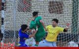 گزارش تصویری/بازی تیم های مقداد مشهد با نفت امیدیه