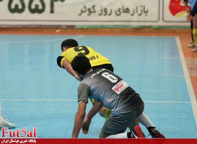 گزارش تصویری/ بازی تیم های کوثر اصفهان با ایمان شیراز