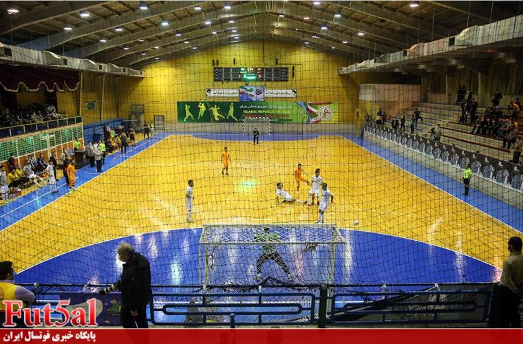 گزارش تصویری/بازی تیم های مس سونگون با گیتی پسند اصفهان