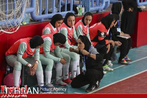 گزارش تصویری دیدار دو تیم فوتسال زنان سایپا و ملی حفاری
