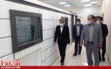 بازدید رئیس کمیته فوتسال از ساختمان فوتسال