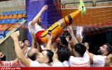 سری دوم گزارش تصویری/ بازی مسسونگون با کراپ الوند و جشن قهرمانی