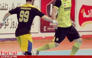 گزارش تصویری/بازی تیم های کوثر اصفهان با اهورای بهبهان