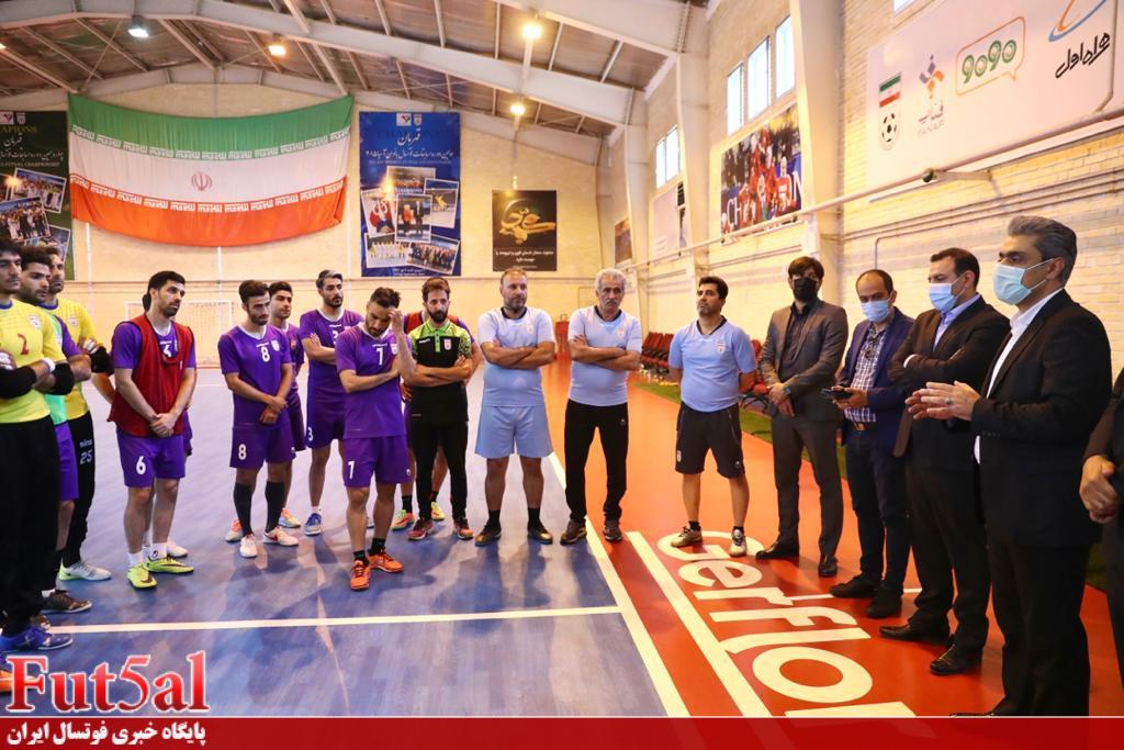 صحبتهای سراجی و اصغر حسن زاده در حضور رئیس فدراسیون فوتبال