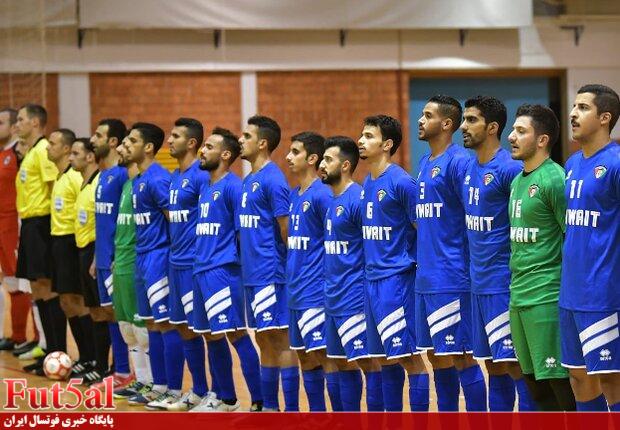 اعزام سه بازیکن تیم ملی فوتسال کویت به اروپا