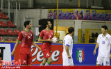 تقابل تیمهای ملی فوتسال ایران و ایتالیا بعد از جام جهانی