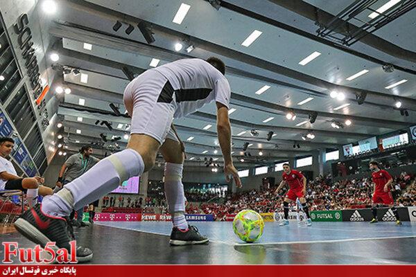 برگزاری بازیهای تدارکاتی تیم ملی فوتسال با تکنولوژی جدید فیفا