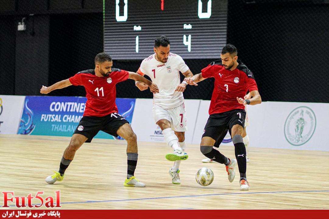 گزارش تصویری/ بازی تیم های ایران و مصر در تورنمنت تایلند