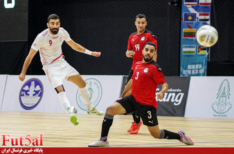 اختصاصی Fut5al/سری دوم گزارش تصویری بازی تیم های ایران و مصر