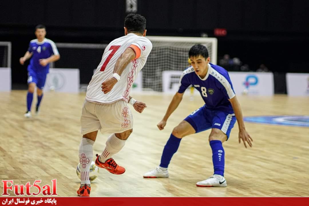 اختصاصی Fut5al/ سری دوم گزارش تصویری بازی تیم های ایران و ازبکستان