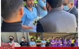 ادای احترام و ابراز همدردی با سرمربی تیم ملی فوتسال