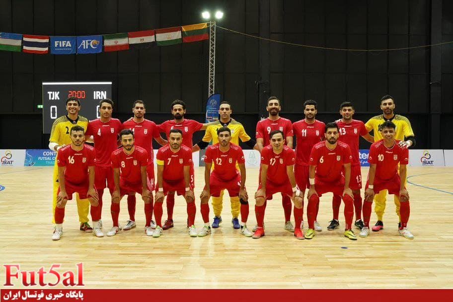 با شکست میزبان جام جهانی،صعود ایران به نیمه نهایی تورنمنت تایلند قطعی شد