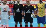 گزارش تصویری/ بازی تیم های گیتی پسند اصفهان با فرش آرای مشهد