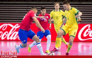 گزارش تصویری/ بازی تیم های لیتوانی و کاستاریکا در جام جهانی ۲۰۲۱